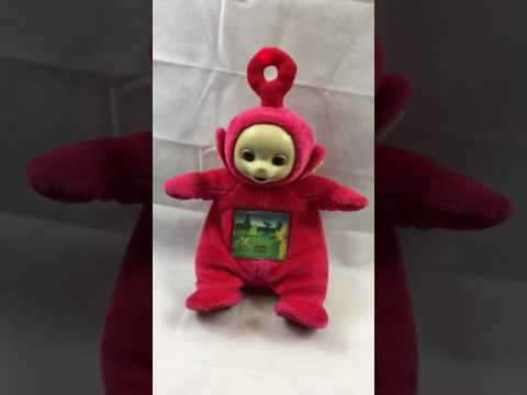 TOMY TELETUBBIES PO MUSICAL TALKING MOVING TV TELLY TUMMY SOFT LIGHT UP SOFT TOY