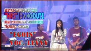 EGOIS  Voc. LEVY - HRS Dangduts Entertaiment - Gebyar Tahun Baru 2018