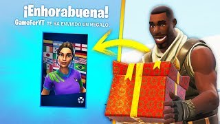 They make bullYING for being CARAMELITO and I GIFT the SKIN of FUTBOLISTA in FORTNITE!.. 🔥😱