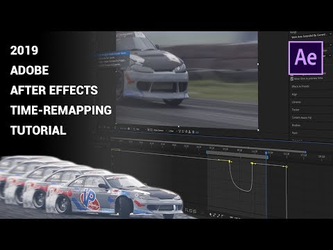 Adobe After Effects 2019 Tutorial - Speed-ramping with sound 4K thumbnail