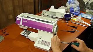 Разборка швейной машины PFAFF Select 3 0