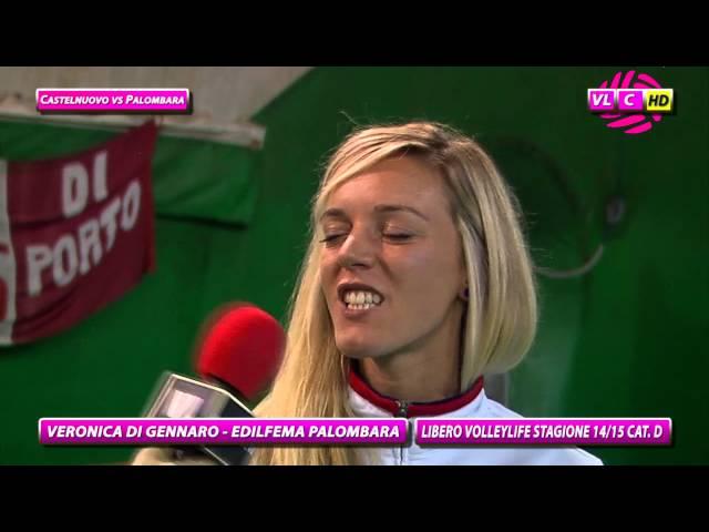 Interviste Castelnuovo vs Palombara