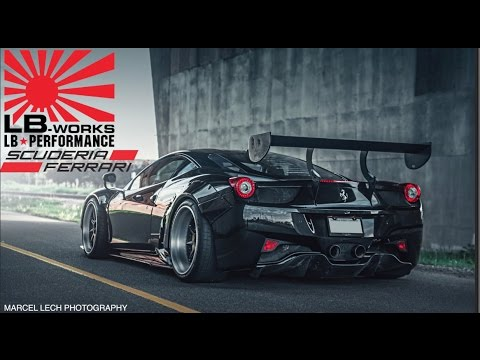 The Making of The DDE Ferrari 458 Liberty Walk GT Widebody