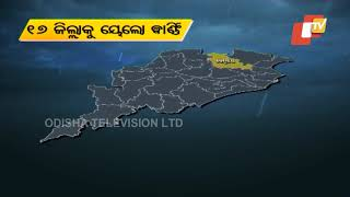 Weather Alert | Yellow Warning For Nor'wester In 17 Odisha Districts