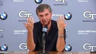 #GTvsUVA: Paul Johnson Weekly Press Conference