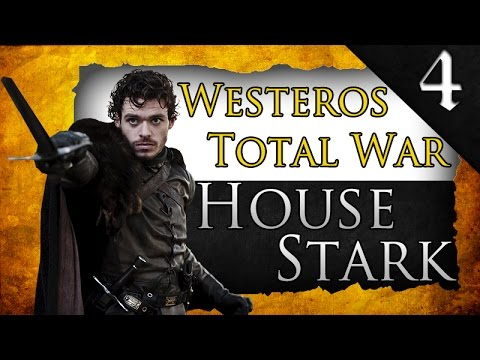 WESTEROS TOTAL WAR: HOUSE STARK CAMPAIGN EP. 4 - SIEGE OF CASTERLY ROCK!
