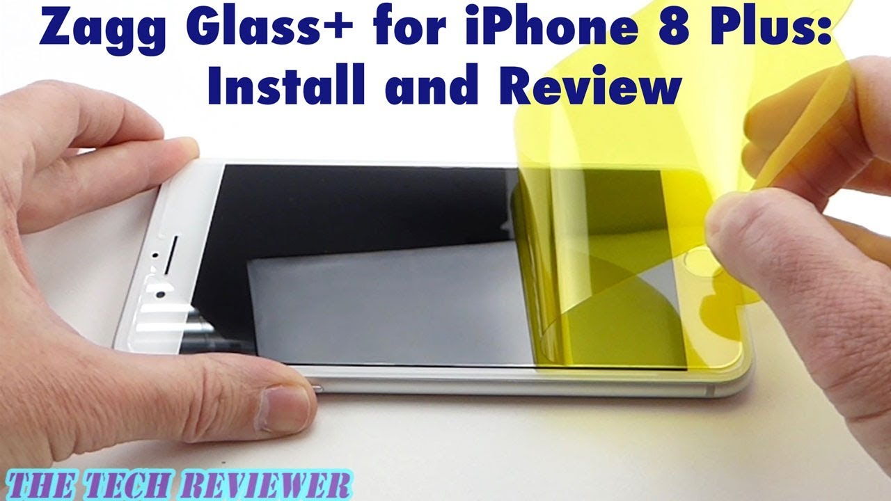 super popular 1373e f9acf Zagg Glass+ for iPhone 8 Plus: Install and Review!