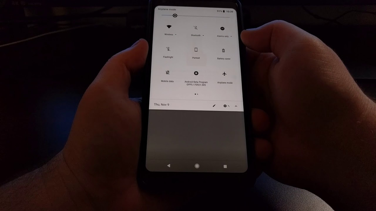 How to Enable the Fingerprint Swipe Gesture on the Pixel 2