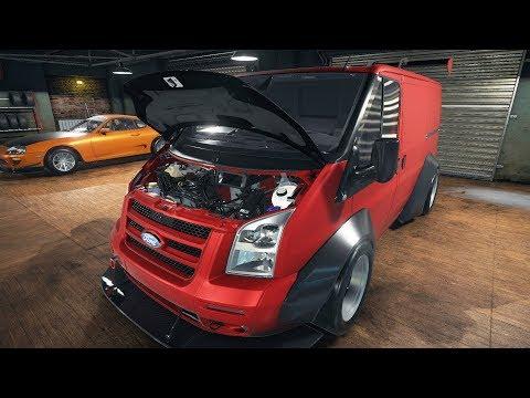 Restauró La Ford Transit Con Motor Motor V8 | CMS18