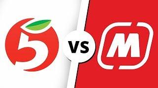 Download МАГНИТ vs ПЯТЁРОЧКА Mp3 and Videos