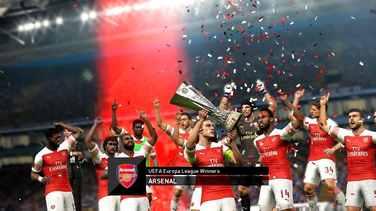 Arsenal Vs Chelsea Uefa Europa League Final 2019 Gameplay Youtube