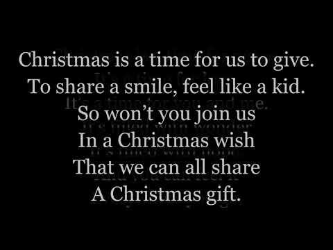 Christmas Wish Lyrics One Voice - YouTube