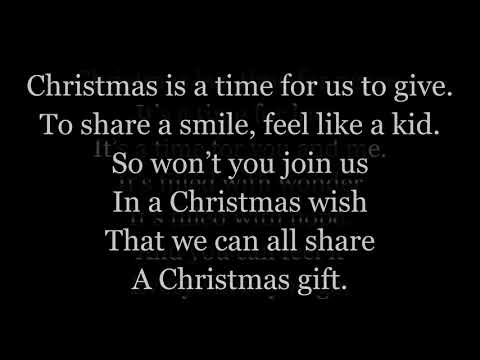Christmas Wish Lyrics One Voice