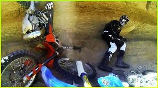 BRUTAL Dirt Bike Crashes & Head On