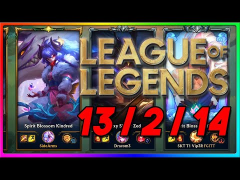 JUNGLE. DIFF. | League of Legends Spirit Blossom Kindred Jungle Gameplay