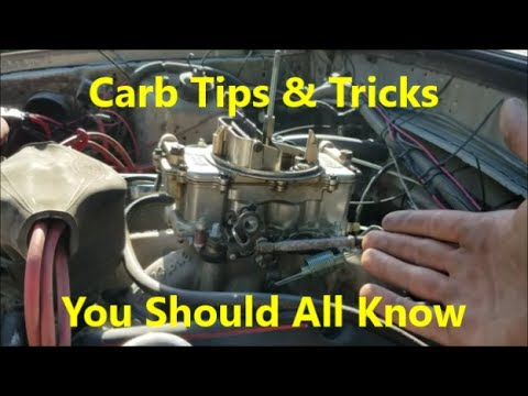 Carburetor High Raised Rpm Idle Issue Out Of The Blue