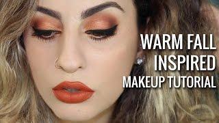Warm Fall Inspired Makeup Tutorial