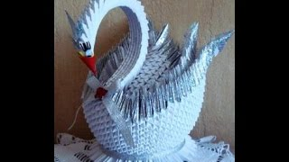Орига́ми-сложенная бумага-царевна лебедь(Поделки Взрослых,своими руками,поделки,самоделки,материалы для поделок,интересно для взрослых, осенние..., 2015-11-23T15:52:30.000Z)