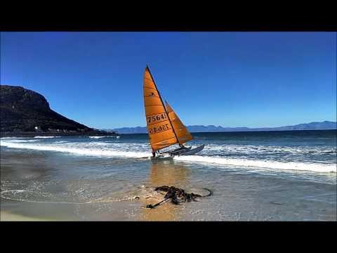 Fish Hoek Beach | Best Beach In Cape Town | SunBathing And Sailing At Fish Hoek - Cape Town