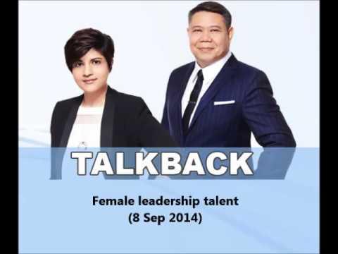 938LIVE Talkback - Female leadership talent (8 Sep 2014)