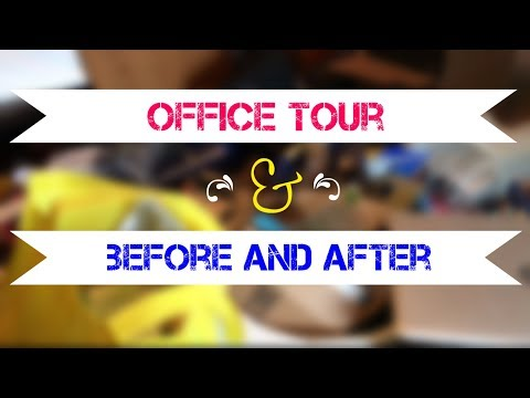 MY OFFICE TOUR!  Some Before, Mostly After...