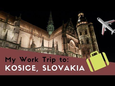 My Work Trip to Kosice, Slovakia / TRAVEL VLOG
