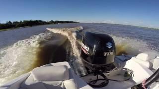 видео Лодочный мотор Сузуки 90