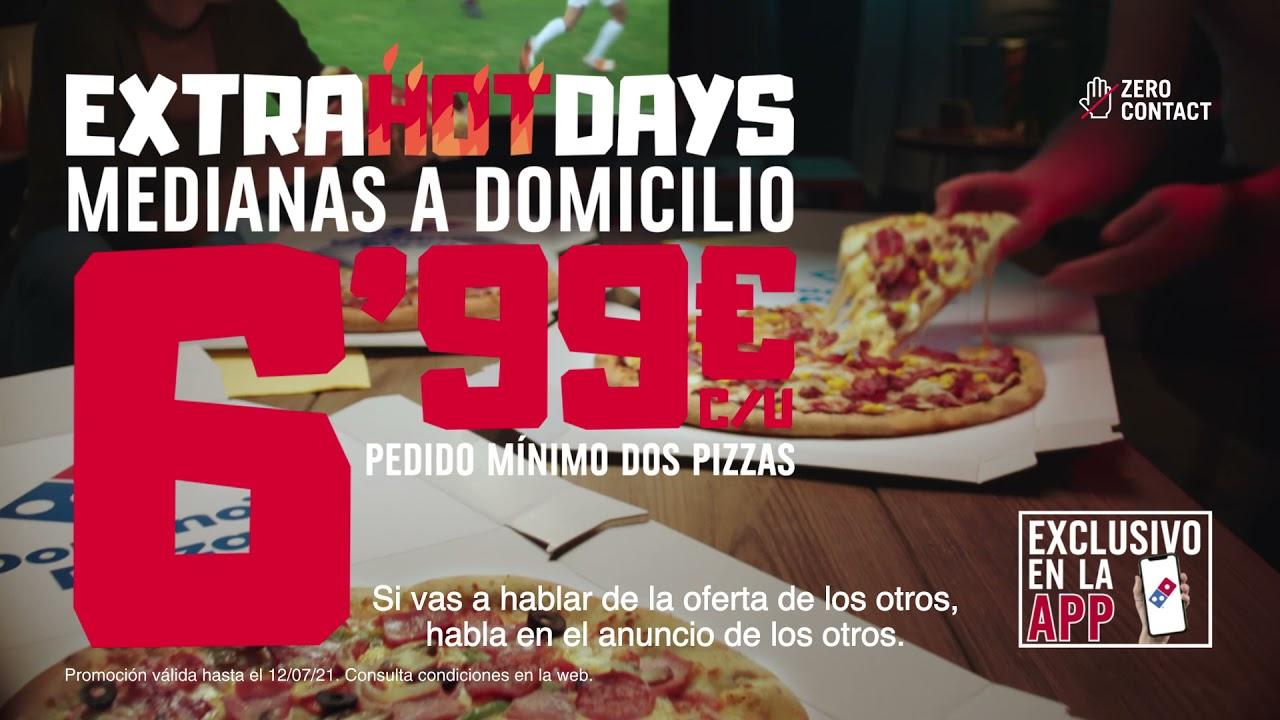 DOMINOS EXTRA HOT DAYS OTROS FUTBOL