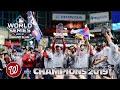 Washington NATIONALS Vs Houston ASTROS Game 7 - NATS WORLD SERIES 2019 Nats Champs