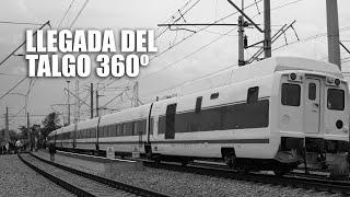 homenaje a la historia del vdeo llegada de un tren en 360 grados 4k