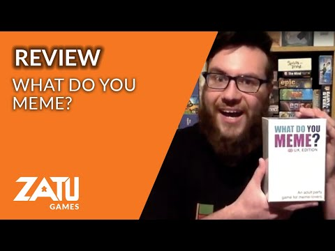 What Do You Meme? UK Edition Review