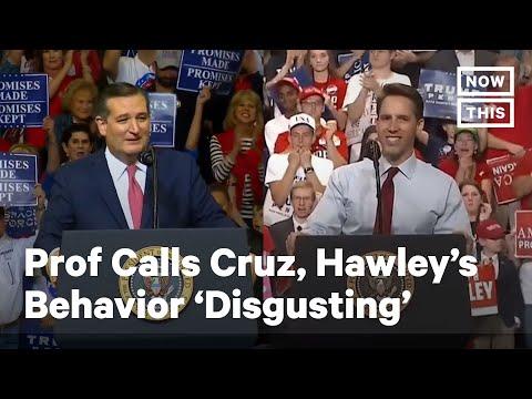Ted Cruz's Former Law Professor Calls Out His Behavior