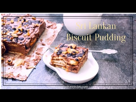 Sri Lankan Marie Biscuit Pudding