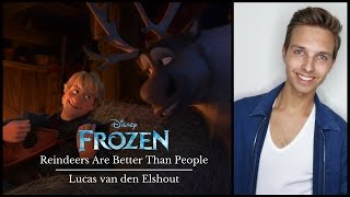 Lucas van den Elshout - Reindeers Are Better Than People (Dub)
