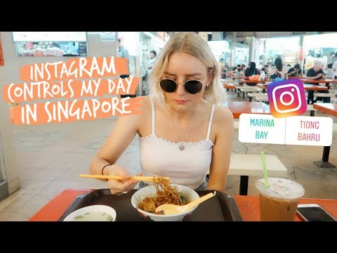 INSTAGRAM FOLLOWERS CONTROL MY DAY IN SINGAPORE!