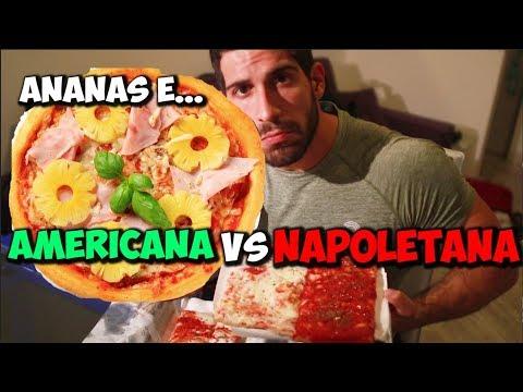 PIZZA - ITALIA VS AMERICA Qual è più buona?