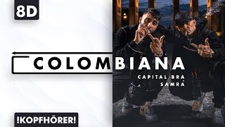 8D AUDIO | Capital Bra & Samra - Colombiana