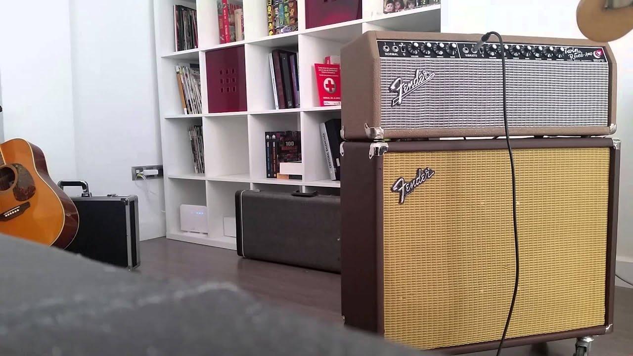 Fender Twin Reverb Head + Cabinet 2x12 Jensen - YouTube