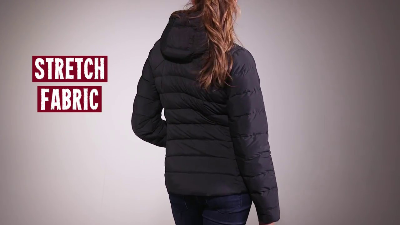 The North Face Womens Stretch Down Jacket 2017 Review - YouTube d3d760fe6