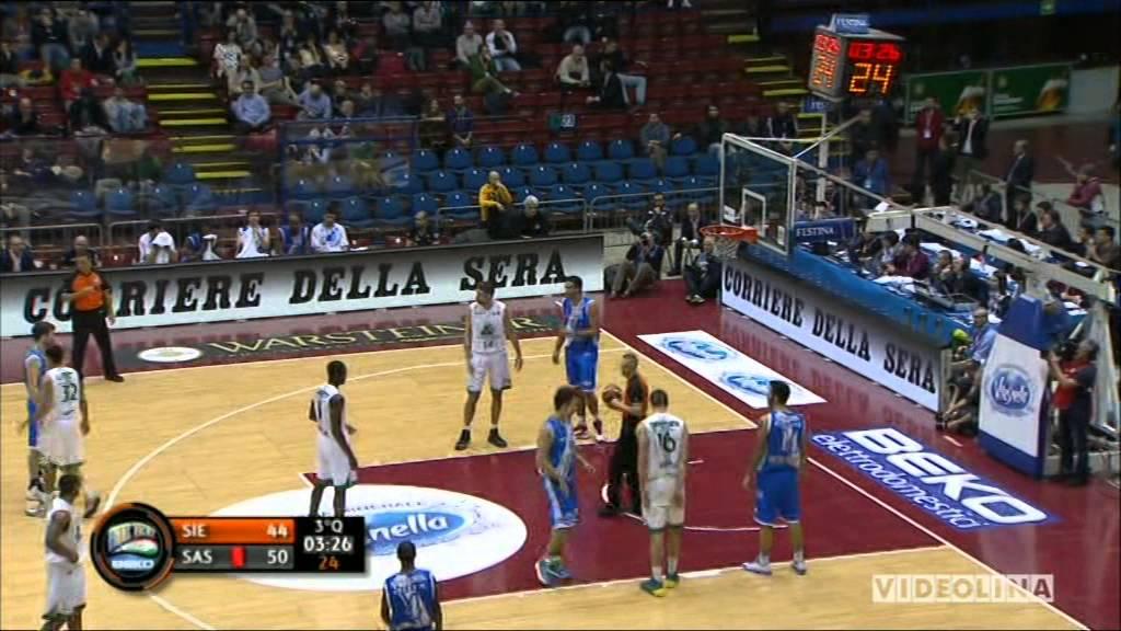 Final8 2014 Coppa Italia Basket Mps Siena Vs Dinamo