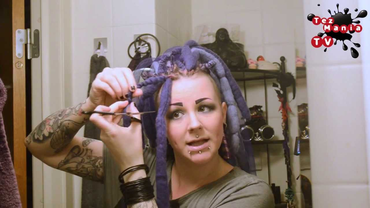 how to get dreads out of cat hair