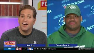 Quinnen Williams on facing Tom Brady for first time, Patriots vs Jets