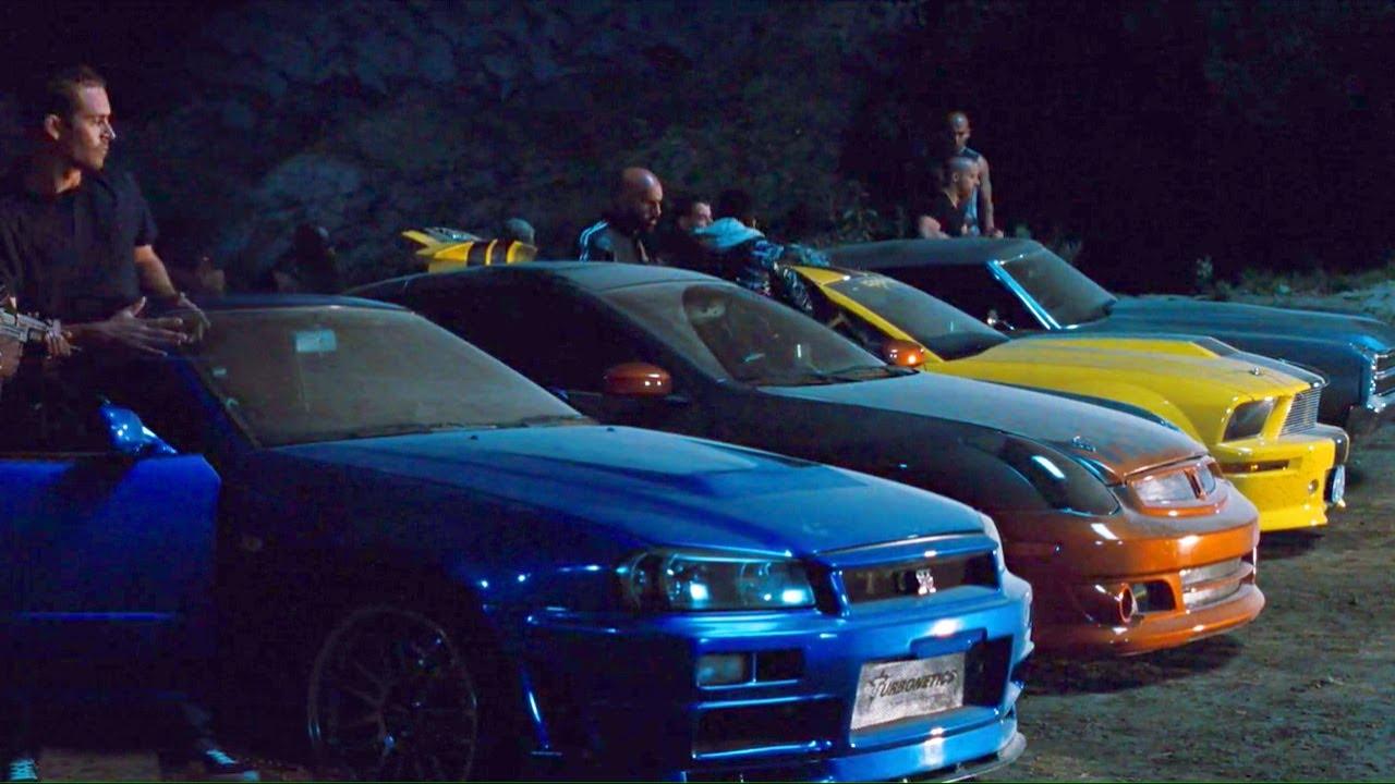 Tunnel Race (Chevelle Vs GT-R Vs Gran