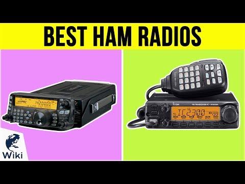 10 Best Ham Radios 2019