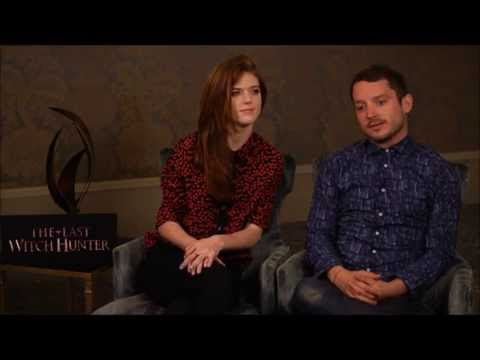 """The Last Witch Hunter"" Interview - Elijah Wood and Rose Leslie"