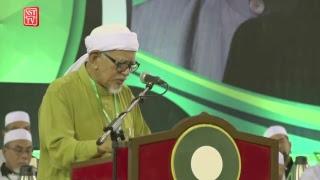 Ucapan penangguhan Muktamar Tahunan PAS ke-64 oleh Presiden PAS, Datuk Seri Abdul Hadi Awang
