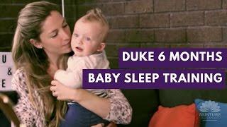 Baby sleep training - Emma & Duke 7 months