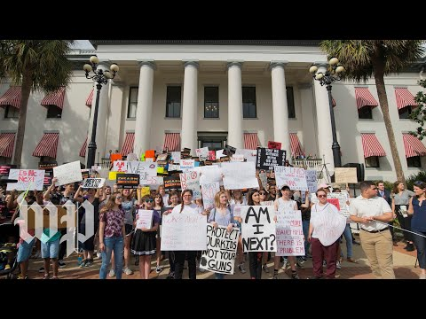 'How much is my life worth?': Students rally in Tallahassee
