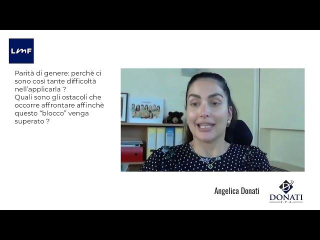 Il gender gap - Angelica Donati (Donatii)