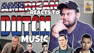 American REACTS // Dutch Music